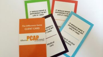 PCAP Difference Game Card